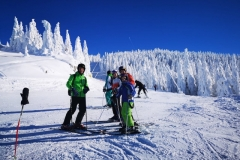 intermediate-ski-lessons-on-Lupului-ski-slope-in-Poiana-Brasov