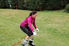 Ski pe iarba in Poiana Brasov